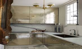 metallic kitchen cabinets cool top dandy elle decor kitchens designing kitchen decoration