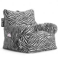 zebra print bean bag chair foter
