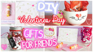 Homemade Valentines Day Ideas For Him by Valentines Day Gifts For Friends 5 Diy Ideas Youtube