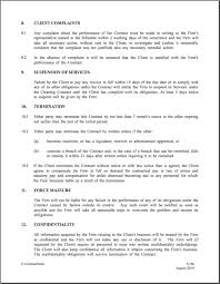 small business employment contract templates contract template