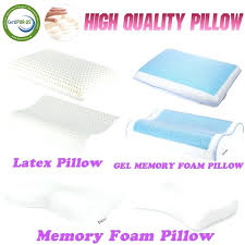 gel bed pillows memory foam bed pillows low serta gel memory foam gusset bed pillows