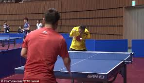 Best Table Tennis Player Armless Ping Pong Player Competes Against World U0027s Top Pros With