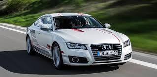 audi a7 self driving the autonomous audi a7 concept drives like a well mannered