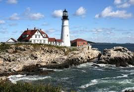 Cape Elizabeth Lights Cross Island Lighthouse