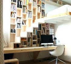 bureau sous mezzanine etagere bureau design deco bureau design bureau suspendu ambiance en
