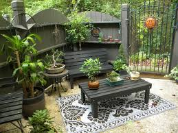 Patio Table And Chairs For Small Spaces Furniture Black Wooden Patio Chairs And Black Wooden Patio Table