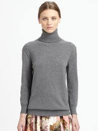 turtle neck sweaters lyst dolce gabbana turtleneck sweater in gray