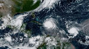 Satellite Map Live Hurricane Irma Shares Satellite Image With Hurricanes Jose And