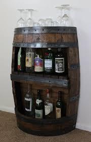 whiskey barrel table for sale whiskey barrel bar with shelf reclaimed whiskey barrel bar barrel