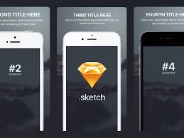 appstore screenshots template for iphone sizes sketch freebie by
