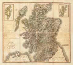 Cary Map Composite Scotland David Rumsey Historical Map Collection