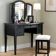 Laminate Wood Flooring On Wall Modern Black Bedroom Vanity Table Design Have Lampshade On Table