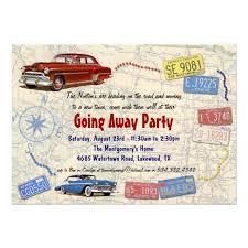 going away invitation wording