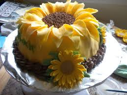 Sunflower Decorations Sunflower Cake Images Some Modifications Of Sunflower Cake And