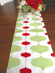 Modern Table Runners Adorable Christmas Table Runner Red Green And White Contemporary