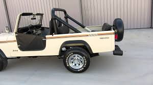 scrambler jeep 1985 jeep scrambler cj 8 30k original miles very rare for sale in