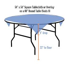 tablecloth for 54x54 table tablecloth rentals linen sizing chart