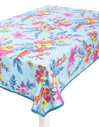 la fiancee du mekong achat en ligne nappe en coton 170 x 250 cm imprimé fleuri turquoise la fiancée