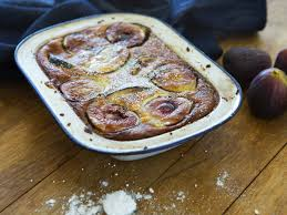 fig clafoutis maggie beer