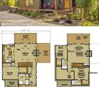 small cabin with loft floor plans free log cabin floor plans home decor small with loft totally diy