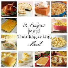 12 recipes for a thanksgiving meal simply sweet home