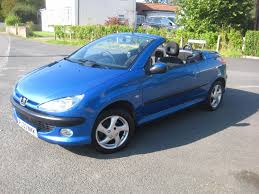 peugeot 206 new peugeot 206 coupé cabriolet 1 6 s 2d for sale parkers