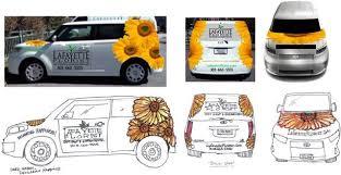 lafayette florist lafayette florist vehicle wrap