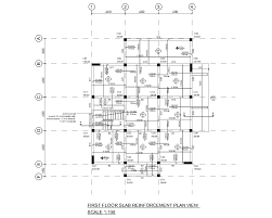 House Drawings by Complete Structural Design Drawings Of A Reinforced Concrete House