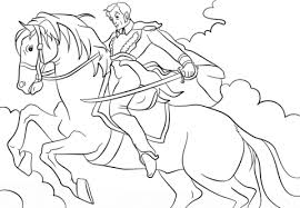 simon bolivar horse coloring free printable coloring pages