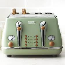Delonghi Toaster Blue Delonghi Vintage Icona Toaster Green I Love This It U0027s From The