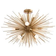 Flush To Ceiling Light Fixtures Semi Flush Ceiling Light Fixture By Arteriors Home Ah 89967