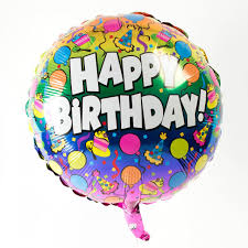 helium birthday balloons happy birthday helium balloons suspended balloon 26435wall jpg