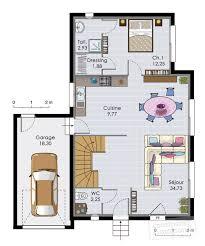 faire plan de cuisine plan de maison avec etage en t tage mezzanine crea07 homewreckr co