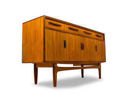 mid century console cabinet g plan mid century credenza media console buffet danish modern