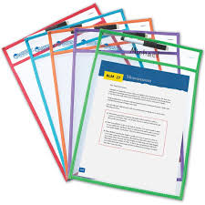 amazon com learning resources write and wipe pockets dry erase