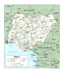 Nigeria Is Located On The World Map Around The by Wps Tin Can Island Port Tcip Contact Information
