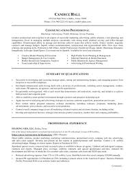 marketing communications resume template communications manager
