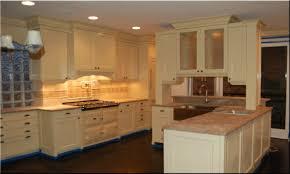 Dark Kitchen Cabinets Light Countertops Espresso Kitchen Cabinets With White Island Dark Light Colored