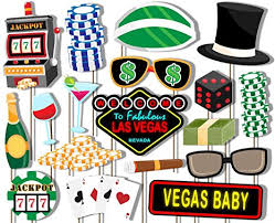 photo booth las vegas las vegas casino photo booth props kit 20 pack party