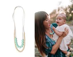 teething necklace baby images Stylish teething necklaces for mom and baby jpg