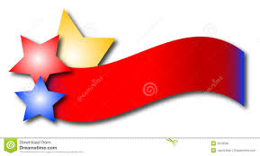 Red White Flag With Blue Star Explosions Clipart Star Banner Pencil And In Color Explosions