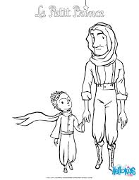 the aviator and the little prince coloring pages hellokids com