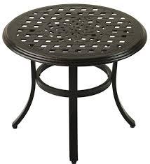 Outdoor Patio End Tables Cast Aluminum Series 5000 Outdoor Patio 21