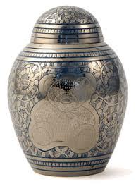 infant urn blue teddy solid brass infant urn