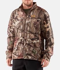 Mossy Oak Duck Blind Camo Clothing Men U0027s Ua Ayton Ii Fleece Camo Hunting Jacket Under Armour Us