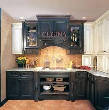 Diy Black Kitchen Cabinets D Licieux Distressed Black Kitchen Cabinets Awesome 1092x660