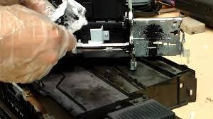limpieza de impresora hp officejet pro 8600 youtube