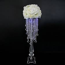 amazon com faybox wedding centerpieces flower stands acrylic