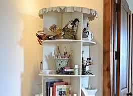 Oak Revolving Bookcase Rotating Bookcase Peeinn Com
