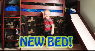new toddler bunk bed with slide gregory in motion toddler